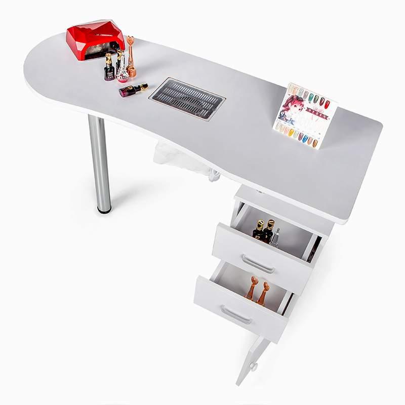 Maniküre- und Nageltisch mit Ablaufventil Schubladen Nagelrekonstruktion Adeam - price