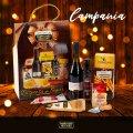 CAMPANIA Geschenkkorb Weihnachten mit Aceto Balsamico IGP Lambrusco Wein - image